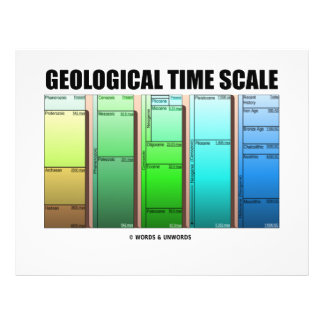 Geological Time Scale (Geological Age) Custom Flyer