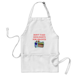 geologist joke standard apron