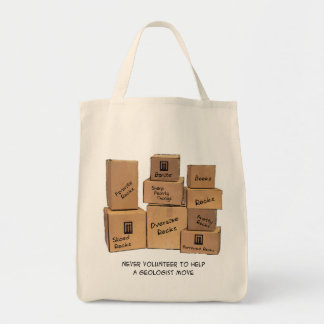 Geologist Moving Humor Tote Bag