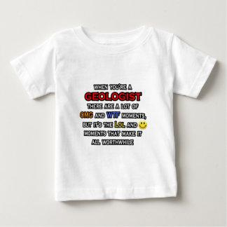 Geologist ... OMG WTF LOL Baby T-Shirt