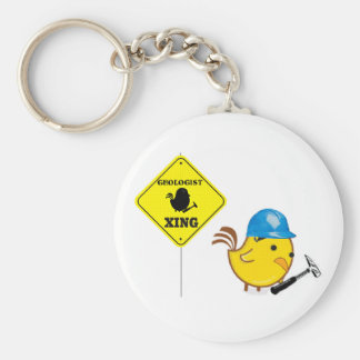 Geologist Xing Key Ring