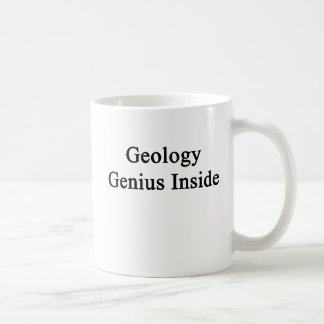 Geology Genius Inside Basic White Mug