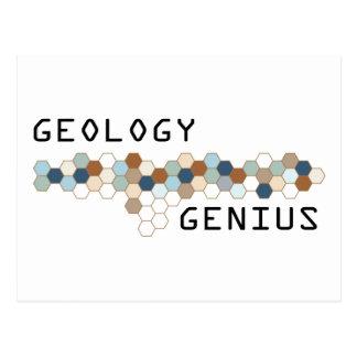 Geology Genius Postcard
