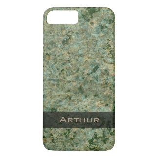 Geology Green Rock Texture Photo iPhone 7 Plus Case