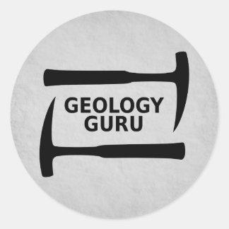 Geology Guru Sticker