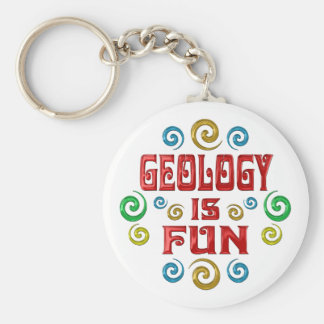 Geology is FUN Key Chain