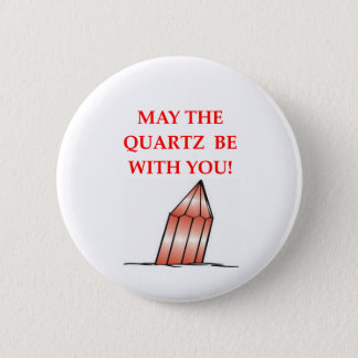 geology joke 6 cm round badge