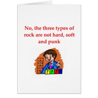 geology joke card