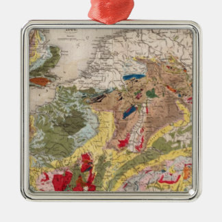 Geology of Europe Christmas Ornament