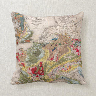 Geology of Europe Cushion