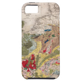Geology of Europe iPhone 5 Case