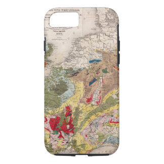 Geology of Europe iPhone 8/7 Case