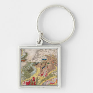 Geology of Europe Key Ring