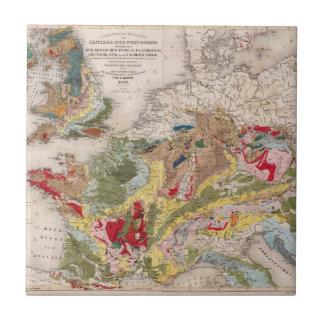 Geology of Europe Tile