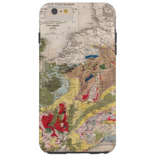 Geology of Europe Tough iPhone 6 Plus Case
