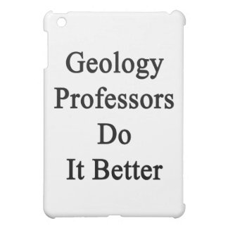 Geology Professors Do It Better Case For The iPad Mini