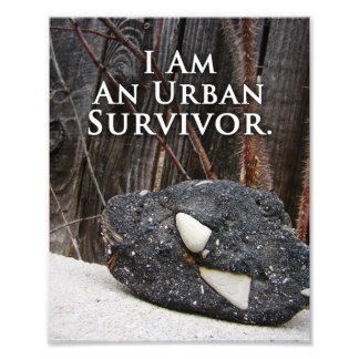 Geology Quote Print Black Urban Stone Photo Print