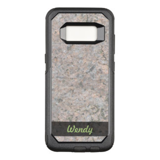 Geology Rock Texture Photo OtterBox Commuter Samsung Galaxy S8 Case