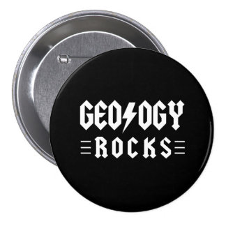 Geology Rocks 7.5 Cm Round Badge