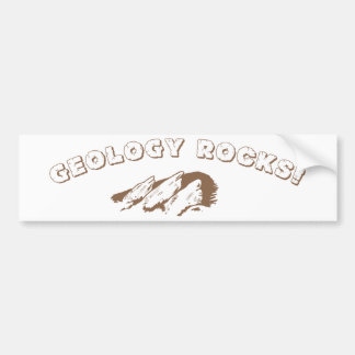 Geology Rocks! Bumper Sticker
