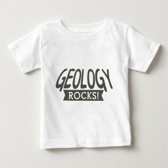 Geology rocks slogan baby T-Shirt