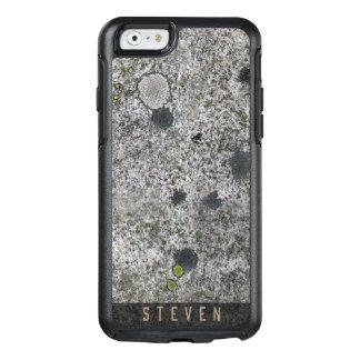 Geology Rough Granite Rock Texture Custom Name OtterBox iPhone 6/6s Case