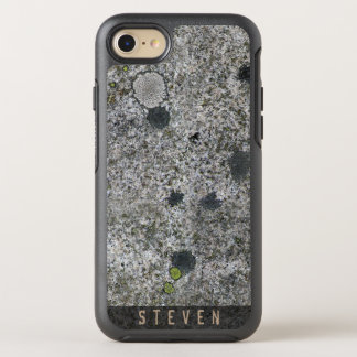 Geology Rough Granite Rock Texture Name OtterBox Symmetry iPhone 8/7 Case