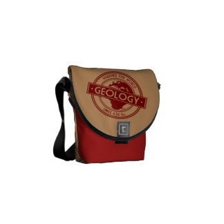 Geology- Shaping the World Logo (Europe) Courier Bags