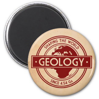 Geology- Shaping the World Logo (Europe) Magnet