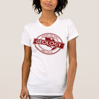 Geology- Shaping the World Logo (North America) Tee Shirt
