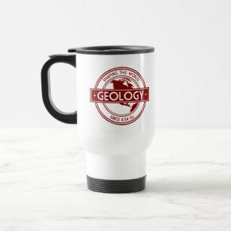 Geology- Shaping the World Logo (North America) Travel Mug