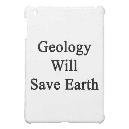 Geology Will Save Earth iPad Mini Case