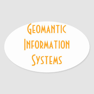 Geomantic Information Systems Sticker