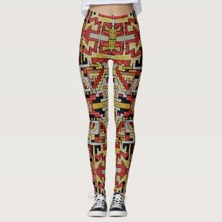 Geomethric Tribal/Ethnic Pattern Leggings