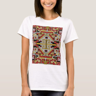 Geomethric Tribal/Ethnic Pattern T-Shirt