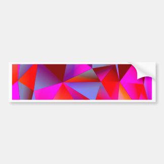 Geometric 05 hot bumper sticker