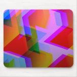 geometric 06 pink mousepads