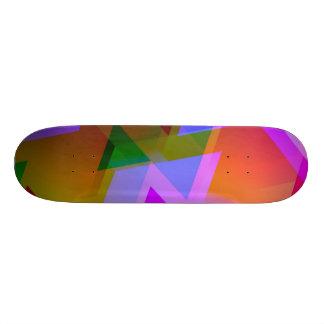 geometric 06 pink skate decks