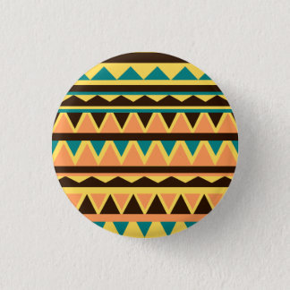 Geometric 3 Cm Round Badge