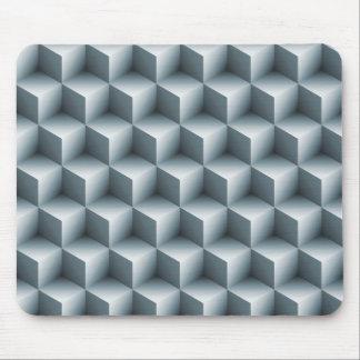 Geometric 3D Cubes Mouse Mat