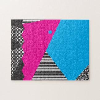 Geometric 80s Puzzle