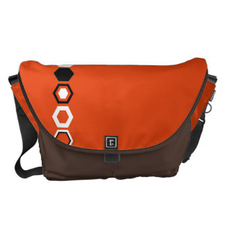 Geometric Abstract Art Design Courier Bag