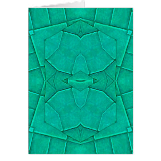Geometric Abstract Greeting Card