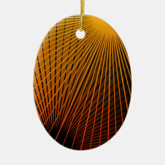 Geometric abstract. christmas ornament