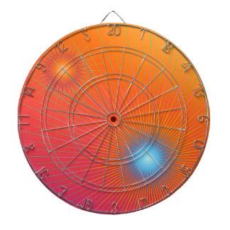 Geometric abstract. dartboard