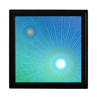 Geometric abstract. gift box