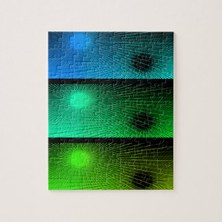 Geometric abstract. jigsaw puzzle