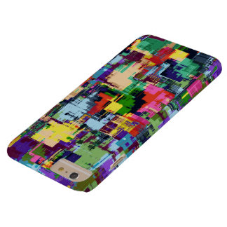 Geometric Abstract Multi colour Barely There iPhone 6 Plus Case