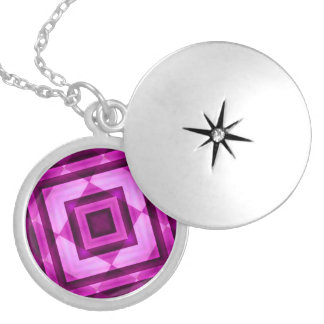 Geometric Abstract Necklace