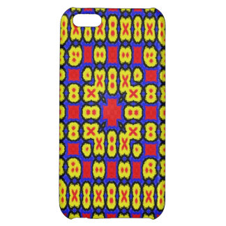 Geometric abstract pattern case for iPhone 5C